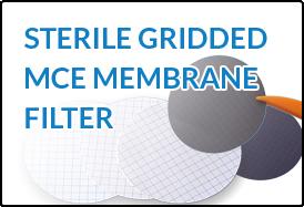 Sterile Gridded MCE Membrane Filter