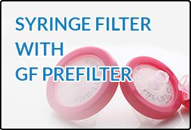 Syringe Filter GF Prefilter